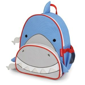 Toddler Backpack Snazzy Shark 12-inches Blue